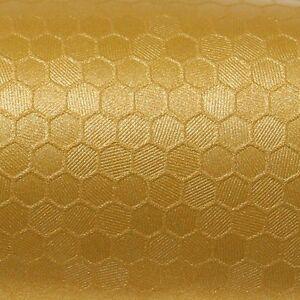 32-88-m-50cm-x-152cm-Oracal-975hc-Honeycomb-091-GOLD-Pelicula-Auto-Coche