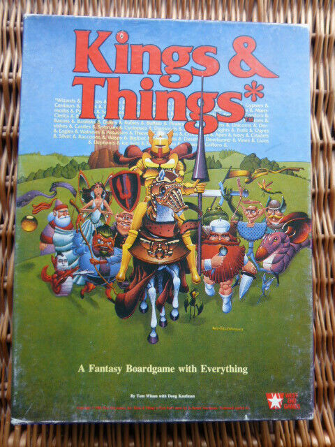Kings & Things (Complete) West End Games