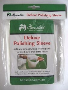 All-New-Henselite-Deluxe-Polishing-Lawn-Bowls-Sleeve-FREE-SHIPPING