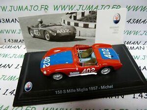 MAS41S-voiture-1-43-LEO-models-MASERATI-150-S-Mille-Miglia-1957-Michel-402