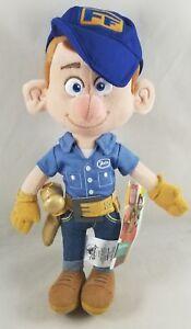 "Disney Store Fix It Felix Jr Plush Ralph Breaks the Internet 12"" Plush Toy Doll"