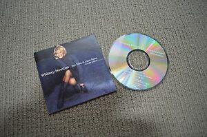 WHITNEY-HOUSTON-MY-LOVE-IS-YOUR-LOVE-RARE-4-TRACK-CD-SINGLE-IN-CARD-SLEEVE