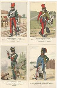 Cdt-BUCQUOY-UNIFORMES-1er-EMPIRE-Serie-102-la-garnison-de-Magdebourg-1814