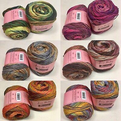 100g 50/% Cotton /& 50/% Acrylic Louisa Harding Marmo