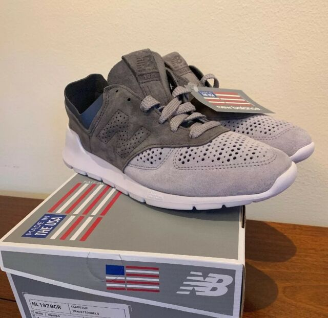 Silver Mink//Gray ML1978CR New $149 Sz 11 New Balance 1978 Shoes Made In USA