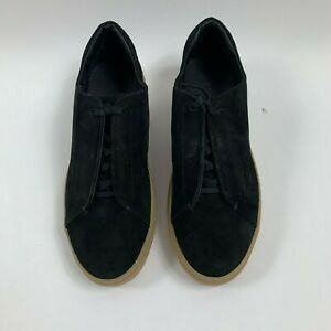 COS Womens Black Casual Sneakers Shoes