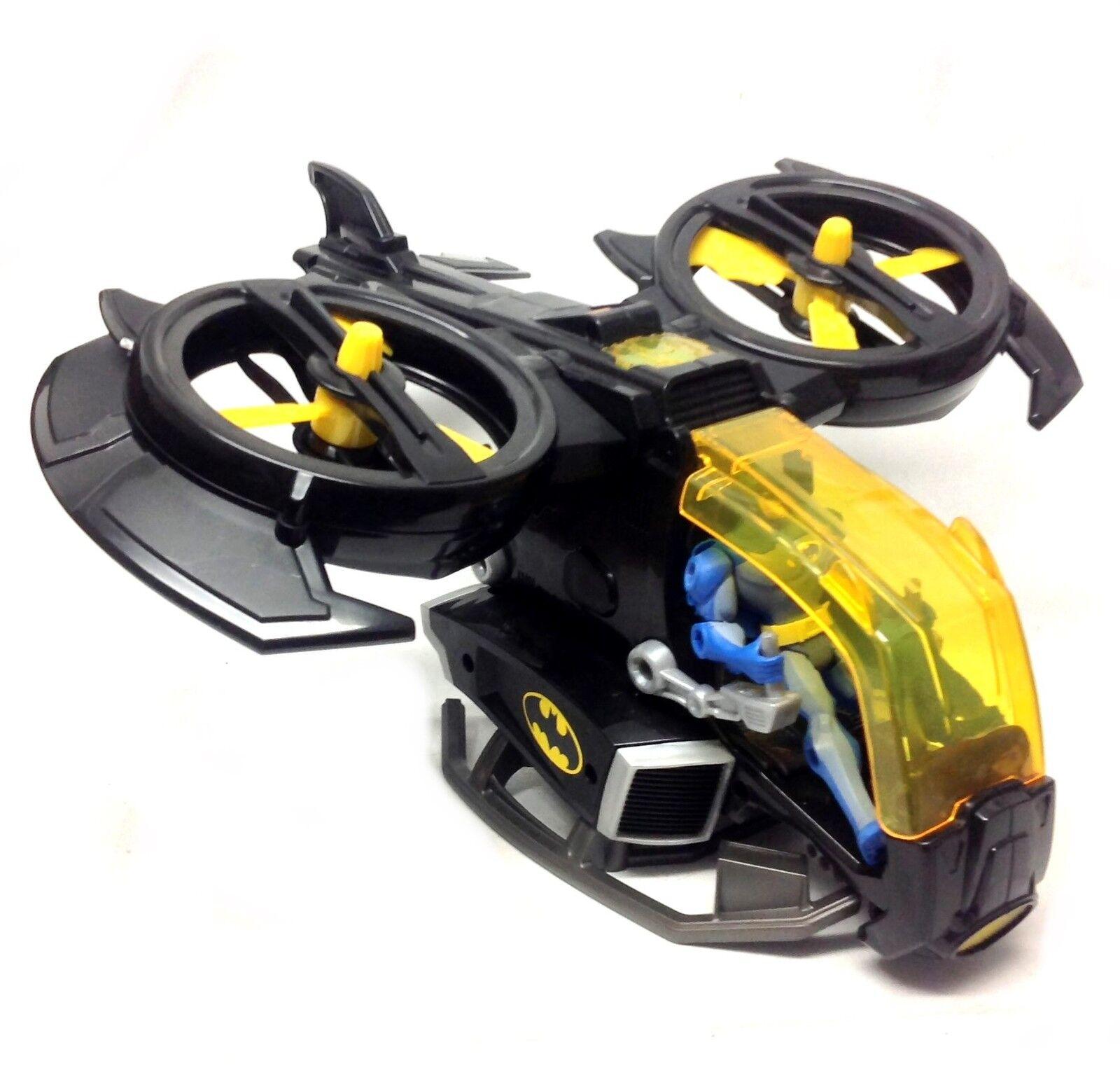 Fisher Price IMAGINEXT 15 15 15  Electronic BATJET w sound  & BATMAN 5  toy figure 0c31bb