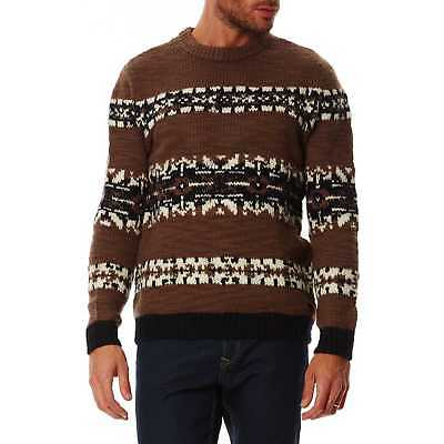 Chevignon - Pull 100% laine - marron