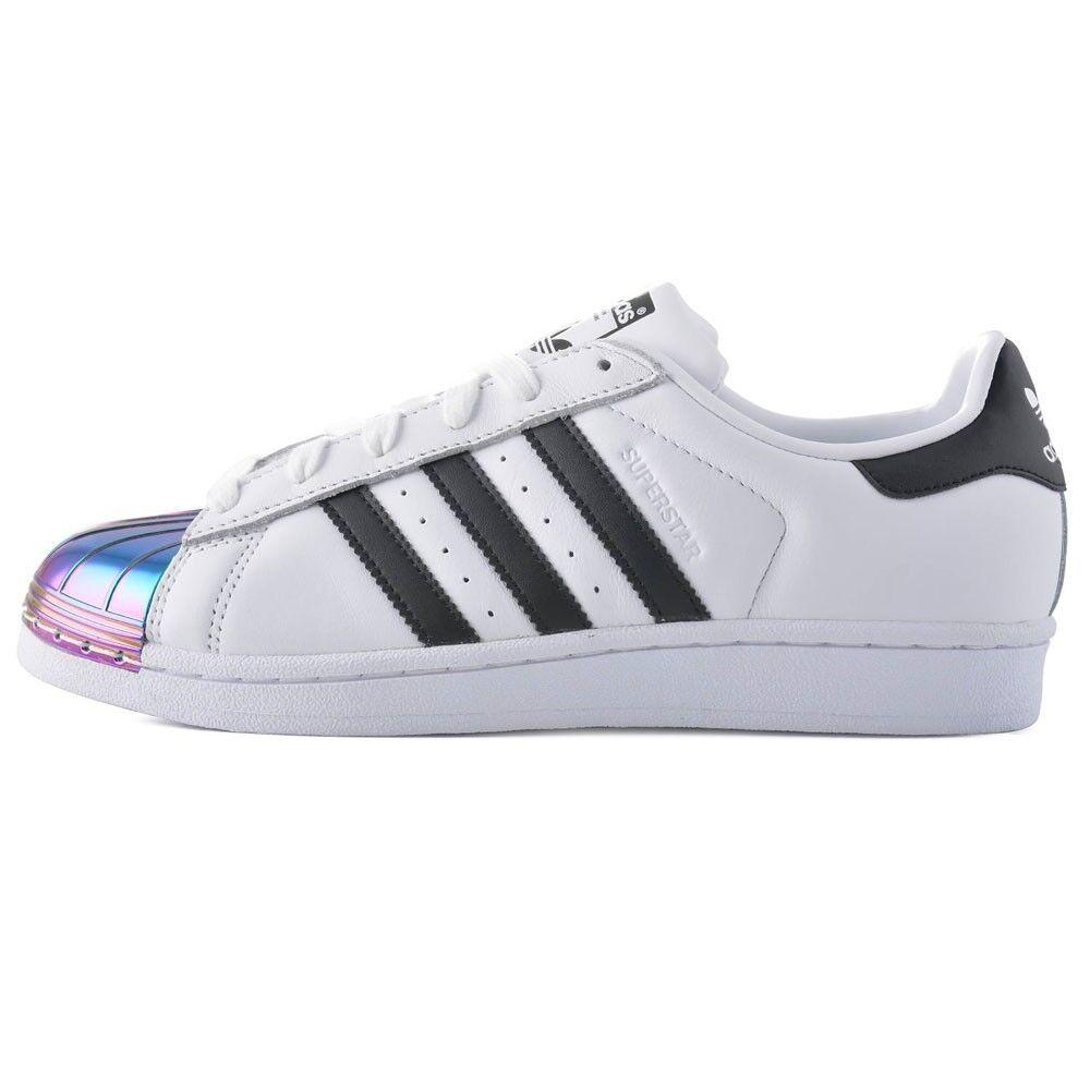 Adidas SUPERSTAR Metall TOE CQ2610 Weiß schwarz Mod. CQ2610