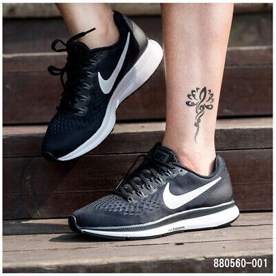 sale retailer f2ad9 91da3 Nike Air Zoom Pegasus 34 Femmes Chaussures de Course Dames Gym Entraînement