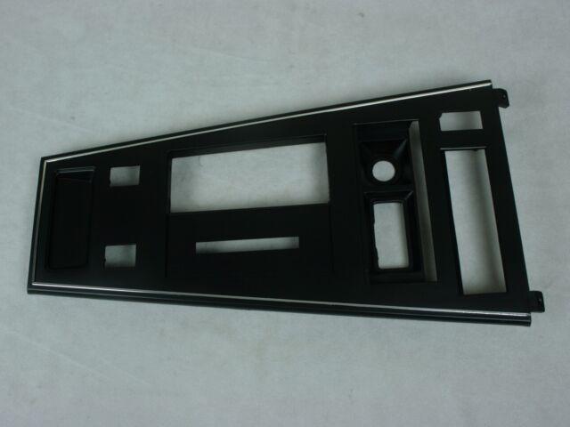 New 1980-82 Corvette Shifter Console Trim Plate w Power Windows & Rear Defroster