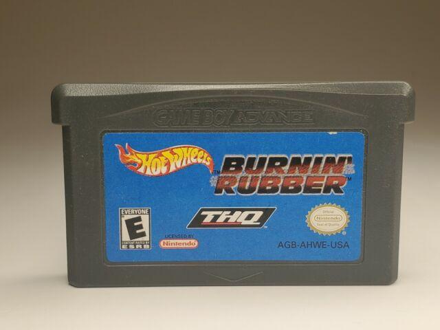 Hot Wheels Burnin Rubber (Nintendo Gameboy Boy Advance GBA) Cart Only