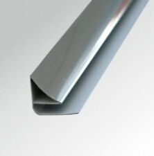10mm CHROME PVC COVING CEILING TRIM For Shower Wall Panels Wet Wall Cladding
