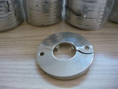 """3X Lasco Chrome Split Cover Pipe Flange 1-1//8/"""""""