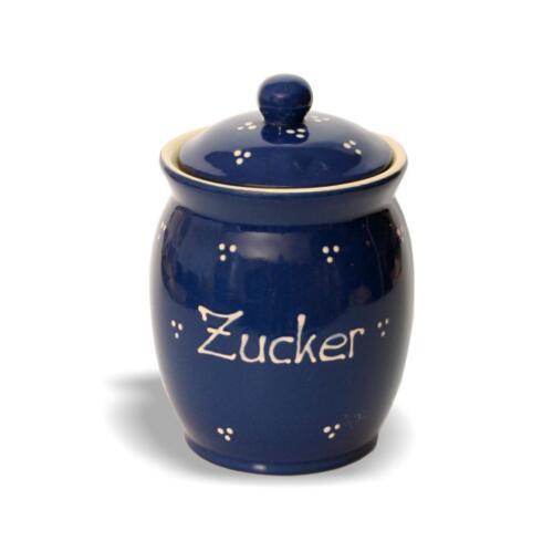 Deckeltopf Gewürzdose Küchendose 0,8ltr Vorratsbehältnisse Keramik Dose