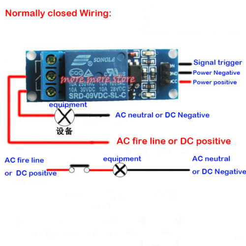DC 5V Low Level 1-Way Relay Trigger Switch Optocoupler Isolation Expansion Board