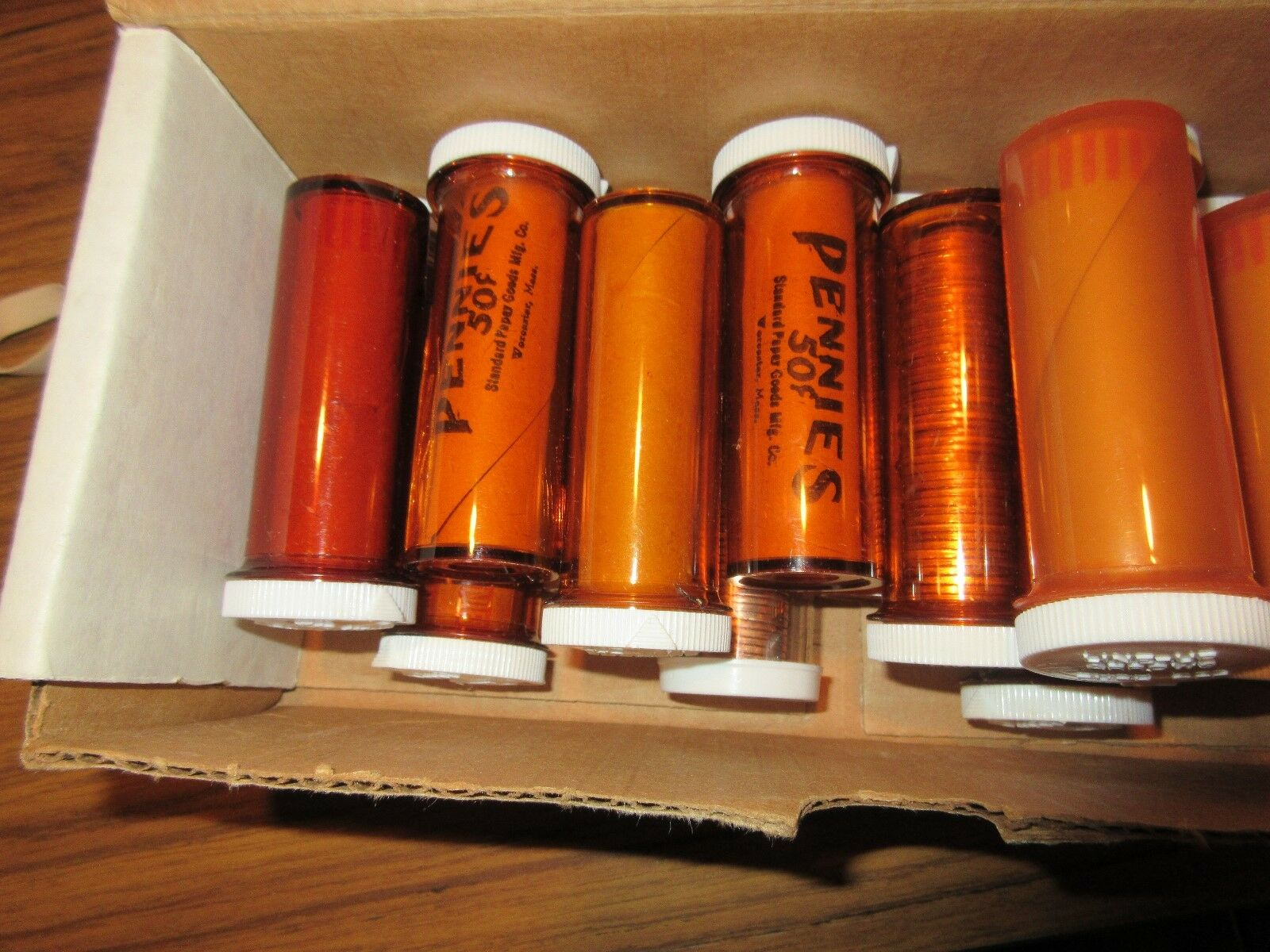 1970's , LIncoln Penny Rolls , Uncirculated , 15 Rolls