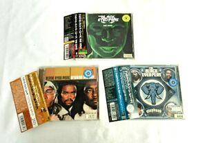 Black-Eyed-Peas-CDs-Lot-of-3-set-CD-Japan-HIP-HOP-OBI