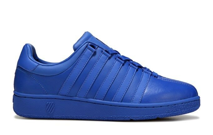 K Swiss VN Classic bluee Mens Leather Fashion shoes Sneakers 03343-495-M Sizes