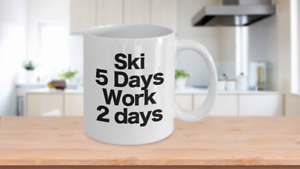 Ski-Mug-White-Coffee-Cup-Funny-Gift-for-Water-Skier-Downhill-Skier-Cross-Country
