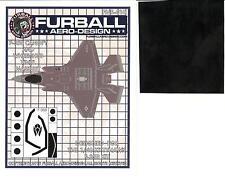 Furball Decals 1/48 LOCKHEED F-35B LIGHTNING Canopy & Wheel Hub Vinyl Mask Set