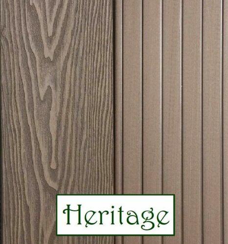 Composite Decking Boards Plastic /& Wood Boards /& KITS Deep Grain Heritage Range