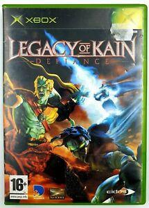 Soul-Reaver-Legacy-of-Kain-Defiance-Xbox-originale-CIB-BE-PAL-FR