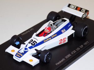 Hesketh 308e Gp Us 1977 Ian Ashley 1/35 S2236 Modèle d'étincelle