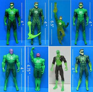 lanterna verde JORDAN CLEAR ABIN SUR GREEN LANTERN Action figure da collezione