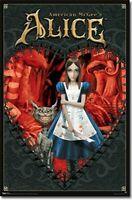 Alice In Wonderland Alice Heart Poster Art Print T6216