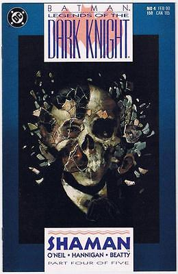 Batman: Legends Of The Dark Knight Shaman No.4 Dc Comic Book 1990