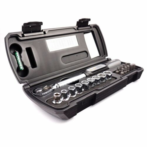 """Resq Digital Electronic Torque Wrench 3//8/"""" 1-85Nm Drive Reversible Ratchet Tools"""