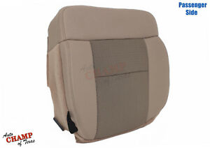 2004-2006-Ford-F150-XLT-Passenger-Side-Bottom-Replacement-Cloth-Seat-Cover-Tan