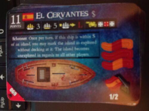 Pirates Davy Jones/' Curse #069 El Cervantes Pocketmodel NrMint-Mint
