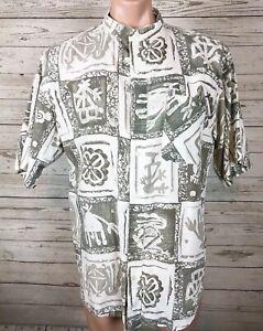 Bugle-Boy-Vintage-Distressed-Large-Aloha-Hawaiian-Skate-Surf-Camp-Shirt-y3