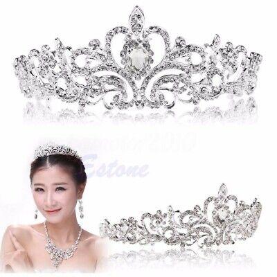 Forst Qun Goddss Tiara Fairy Crown Wdding Party Cosplay Hadpic