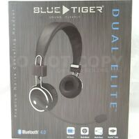 Blue Tiger Dual Elite Bluetooth Wireless Headset Pro Trucker Cell Phone Over on sale