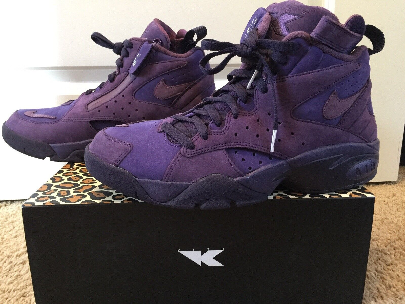 Kith x Nike Air Maestro 2 High Purple Ronnie Fieg  Pippen Men's Size 11 VNDS