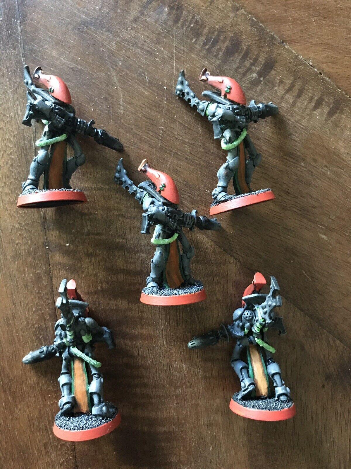 Warhammer 40K Eldar Aeldari Army OOP Metal Wraithguard 5 Games Workshop Models
