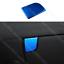 for HYUNDAI Elantra 2011-2016 blue stainless Control Storage Box Frame Trim