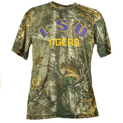 FleißIg Ncaa Colosseum Louisiana Staat Tigers Lsu Herren T-shirt Camouflage Realtree L Die Neueste Mode Baseball & Softball Weitere Ballsportarten