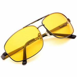 b76edea966dc Image is loading Mens-Women-Night-Vision-Sunglasses-Polarized-Anti-Glare-