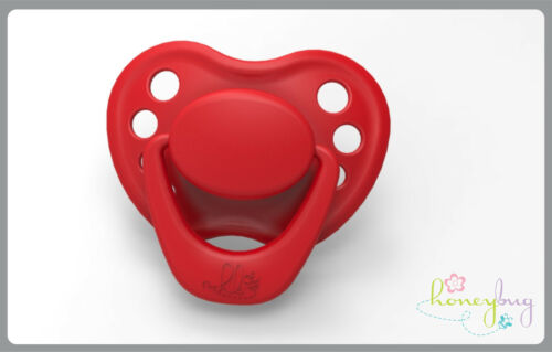 HoneyBug Sweetheart Pacifier Red INCLUDES MAGNETS /& FREE SHIPPING IN USA!