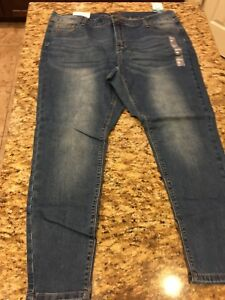 Rue-21-Mid-Rise-Jeggings-Womens-Size-18-Short-NEW