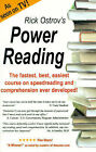 Power Reading: The Fastest, Best, Easiest Course on Speedreading and Comprehension Ever Developed! by Rick Ostrov (Paperback, 1998)
