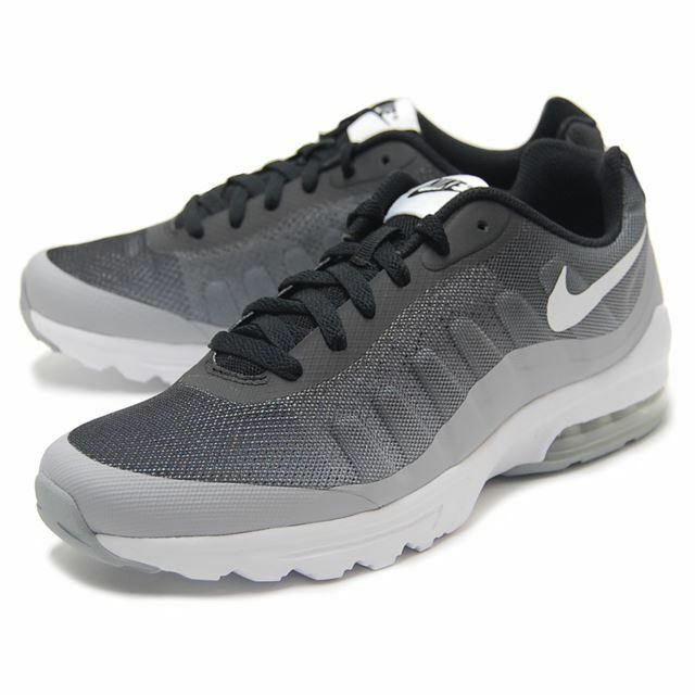 Casual wild Nike Men's Air Max Invigor Print Black/White-Wolf Grey Running Shoes Comfortable