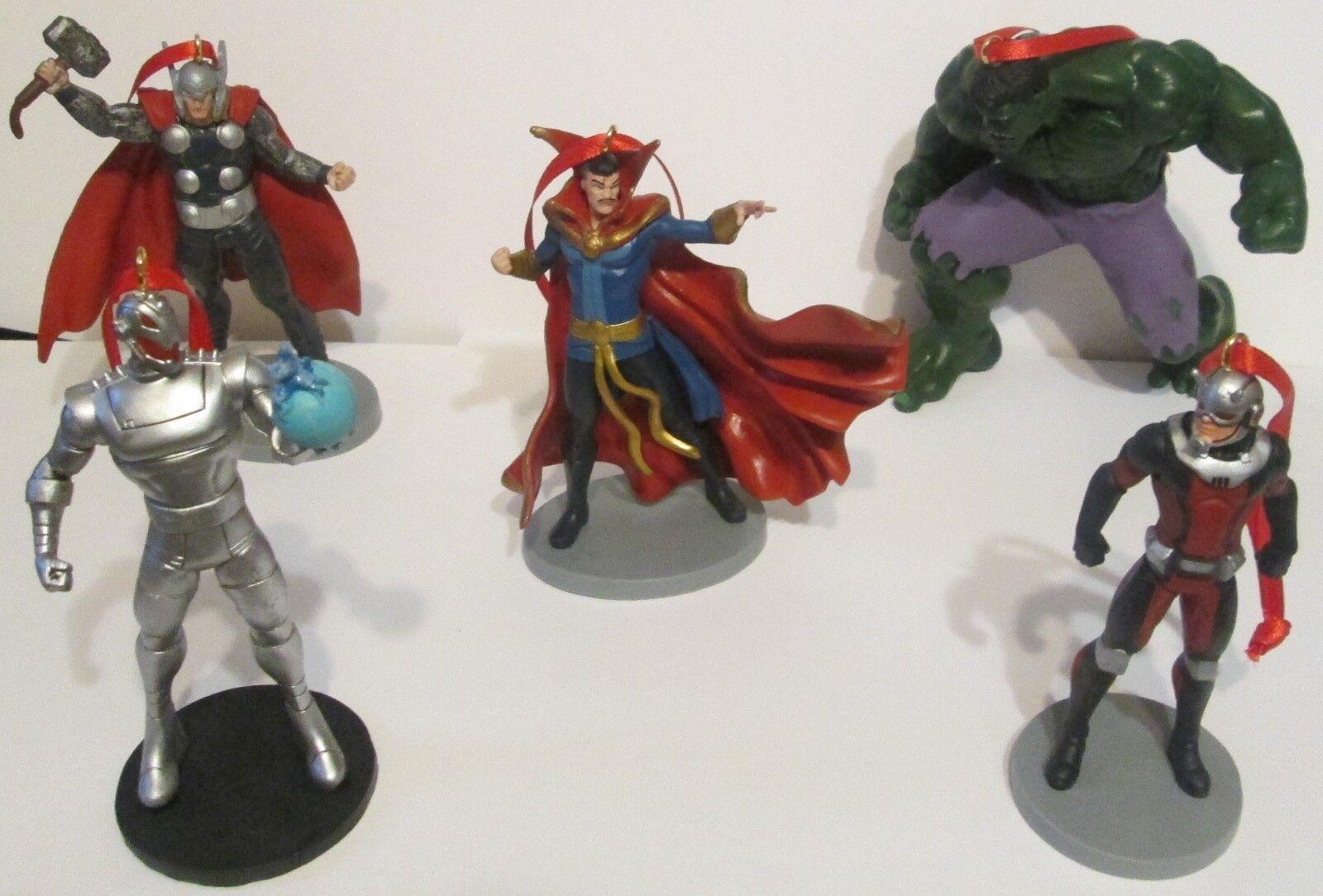 Avengers Marvel Mega 20Pc. Fully-Sculpted Heroes & Villains Artesian Ornaments Ornaments Ornaments bc03e9