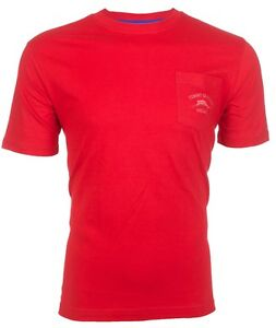 Bien éDuqué Tommy Bahama Mens T-shirt Bali High Tide Pocket Embroidered Red Relax $48 Nwt