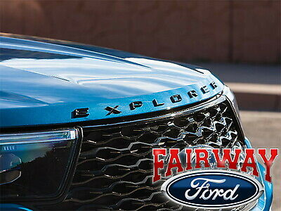2011 thru 2019 Explorer OEM Genuine Ford Sport Pkg Hood Emblem Letters Decal NEW