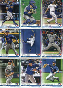 2019-Topps-Complete-Series-1-amp-2-Toronto-Blue-Jays-Team-Set-of-21-Cards